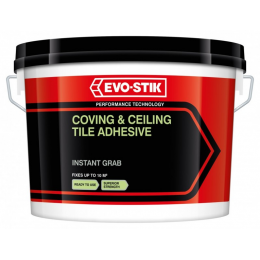 Coving & ceiling tile adhesive