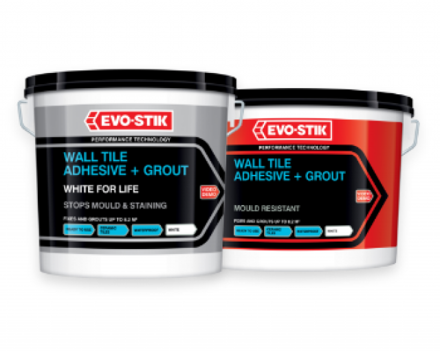 Wall tile adhesive & grouts